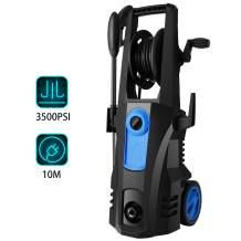 TEANDE 3500 PSI Electric Pressure Washer, 3500 MAX PSI 2.60 GPM High Electric Pressure Washer, Power Washer with Hose Reel