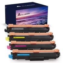 ALLWORK Remanufactured TN227 Toner Cartridge Replacement for Brother TN227 TN 227 TN227bk TN223 Toner Cartridge Works with Brother HL-L3230CDW HL-L3290CDW Printer (Black Cyan Magenta Yellow 4-Pack)