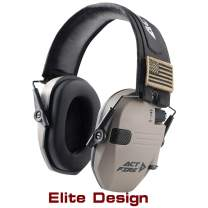 ACTFIRE Shooting Ear Protection Electronic Shooting Earmuffs Ultimate Combat Design