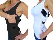 AC UNDERCOVER Concealed Carry Clothing Tank Top Holster Shirt CCW Tactical