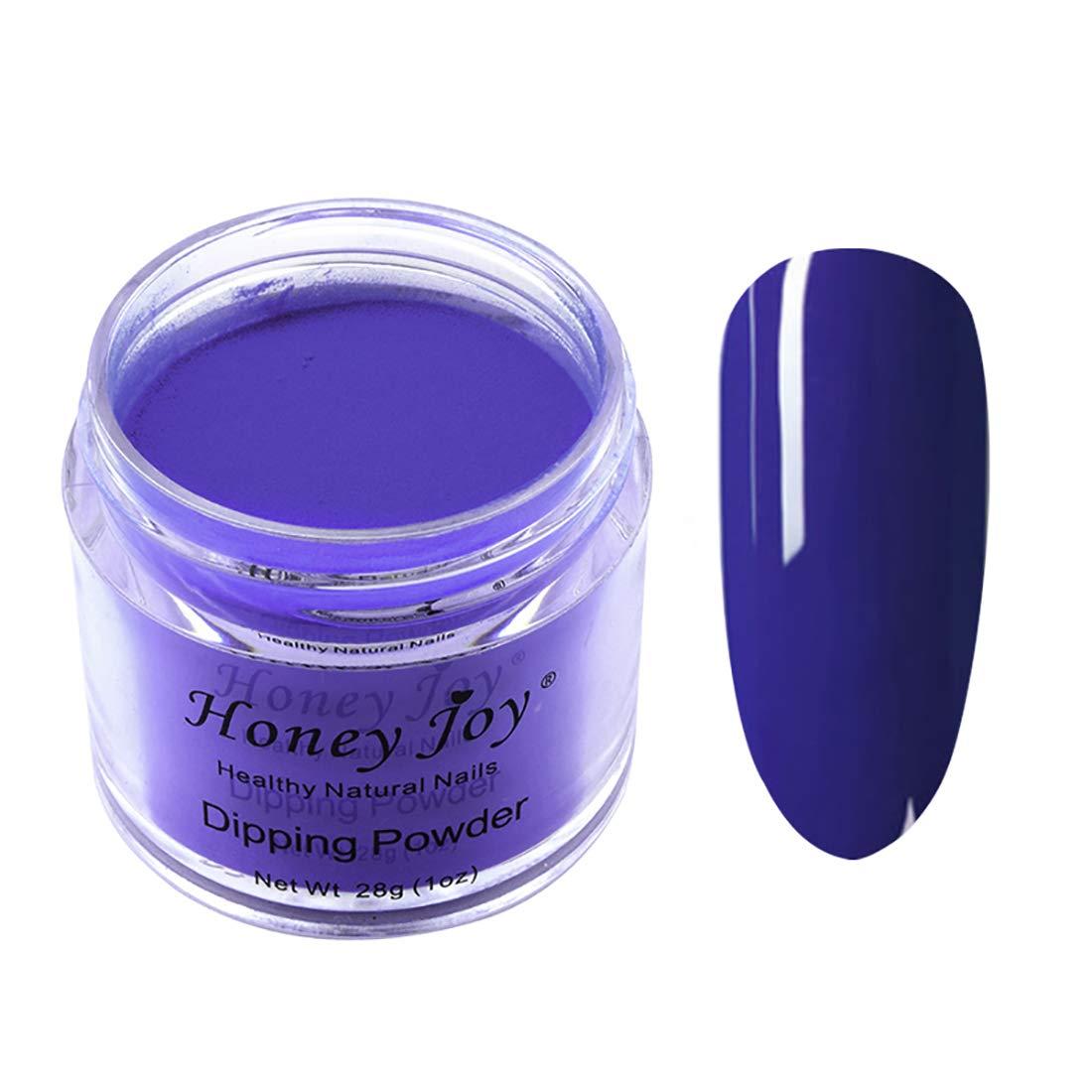 28g/Box Dark Purple Dipping Powder Without Lamp Cure Nails Dip Powder Summer Gel Nail Color Powder Natural Dry (no.30)