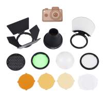 Godox AK-R1 Accessories Kit, Magnetic Port Compatible with Godox H200R Round Flash Head
