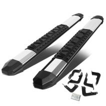 """5"""" Chrome Aluminum Side Step Nerf Bar Running Board Replacement for Toyota Tundra 2-Dr Regular Cab 07-20"""