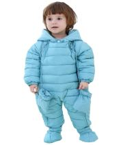 GIRL MELODY Fashion Baby Romper Baby Dress Winter Coat Cute Baby Snowsuit for Newborn Baby