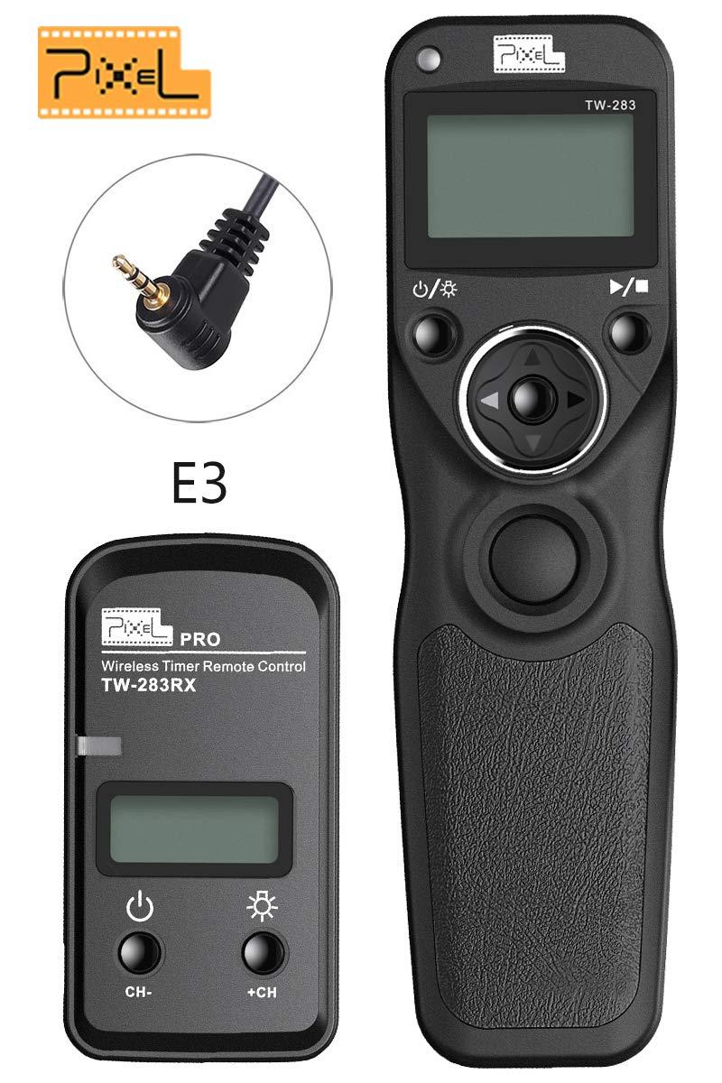 PIXEL Digital Wireless SLR Shutter Release Remote Cord Release Remote Control Timer for Canon Cameras EOS R 1300D 1200D 1100D 1000D 760D 750D 700D 650D 600D 550D 500D 450D