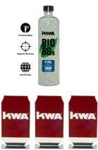 KWA - 0.25g Bio BB Bottle (5000 RDS) + 3 Target