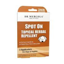 Dr. Mercola Herbal Flea & Tick Repellent for Dogs