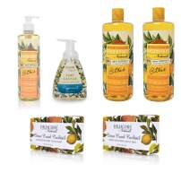 Dr. Jacobs Naturals Pure Castile Liquid Soap - The Complete Gift Set - Free of Parabens, Sulfates, Synthetics, Gltuen and GMO (Citrus Dreams)