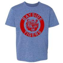 Bayside Tigers 90s Retro Halloween Costume Youth Kids Girl Boy T-Shirt