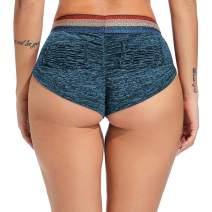 Women Sexy Workout Shorts High Waisted Lounge Lingerie Butt Lifting Hot Dance Costume Booty Clubwear