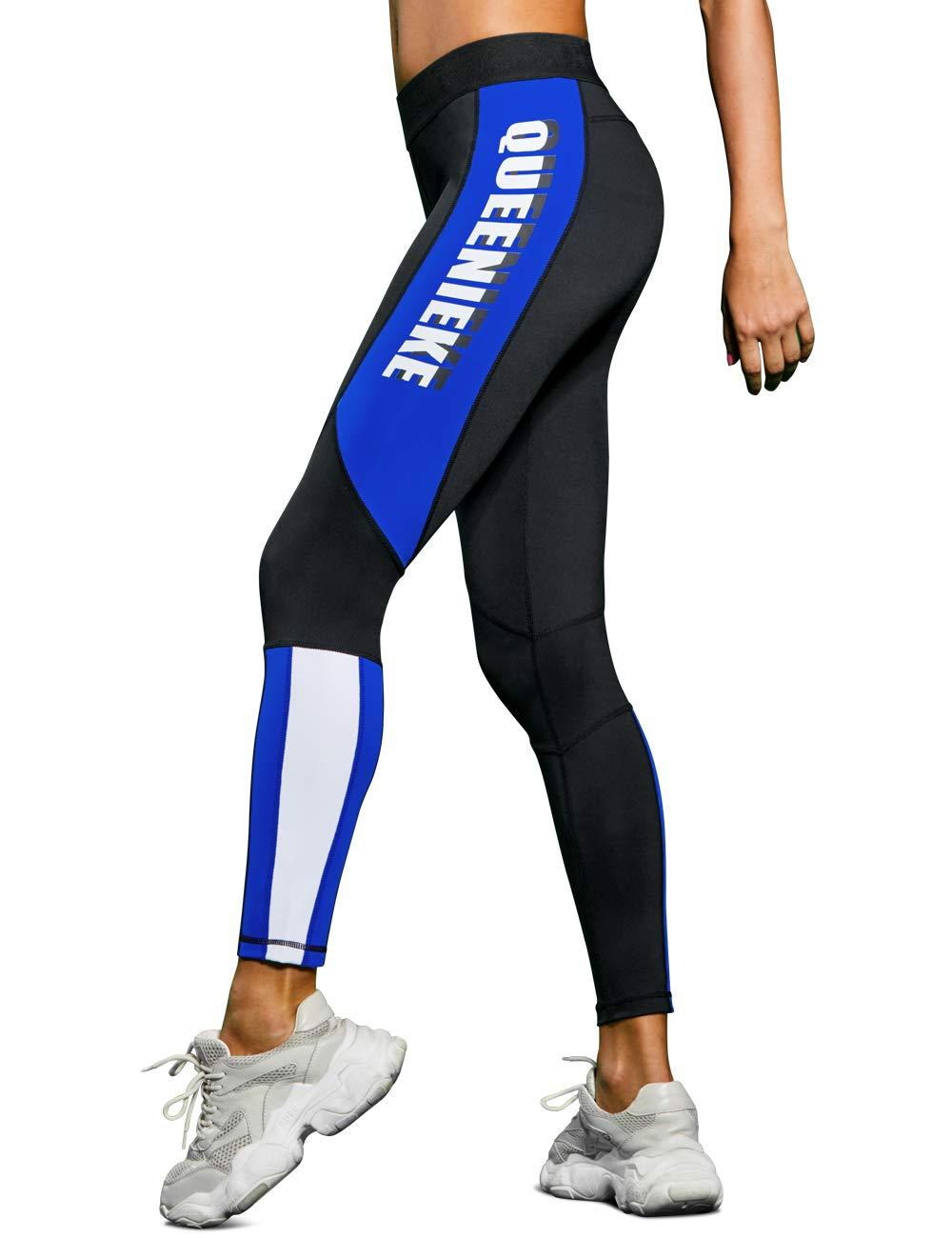 QUEENIEKE Women Workout Leggings High Waisted Buttery Soft Yoga Pants Running Tights (90307)