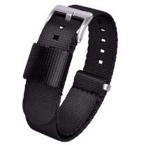 Ritche NATO Strap 18mm 20mm 22mm 24mm NATO Watch Strap Compatible with Timex Weekender Watch Bands for Men