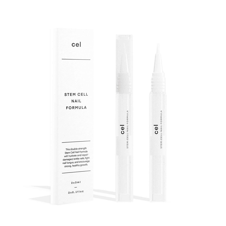 Cel MD Cuticle Oil Pen Nail Strengthener Repair Serum – Nail Repair For Damaged Nails – Helps Repair & Nourish Cracked Nails and Rigid Dry Cuticles - Set of 2