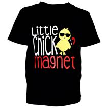 Unique Baby Boys Little Chick Magent Easter Shirt
