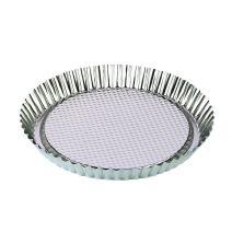 Zenker Tin Plated Steel Flan/Tart Pan, 11-Inch