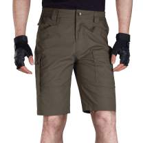 FREE SOLDIER Men's Tactical Cargo Shorts Relaxed Fit Water Resistant Work Hiking Shorts