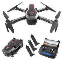 GoolRC SG906 GPS RC Drone with 4K HD Front Camera and 720P Down-Looking Camera, 5G WiFi FPV Foldable Brushless Drone, Optical Flow Positioning Altitude Hold RC Quadcopter with 3 Battery