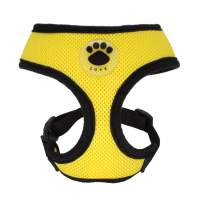 WONDERPUP Soft Mesh Dog Harness No Pull Walking Comfort Padded Vest Harnesses Adjustable
