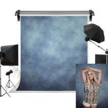 Kate 6.5x10ft/2m(W) x3m(H) Large Blue Backdrops Photographers Retro Solid Blue Background Photography Props Studio Abstract Backdrop