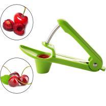 SameTech Easy Kitchen Tool Cherry Pitter Olive Stoner Corer Seed Remover