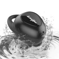 Wireless Earbuds, LiteXim [2019 Upgraded] Bluetooth 5.0 True Wireless Earphones with 16 Hours Playtime, HD Stereo Sound Waterproof Sport In-Ear Headphones with Microphone Charging Case for Workout Run