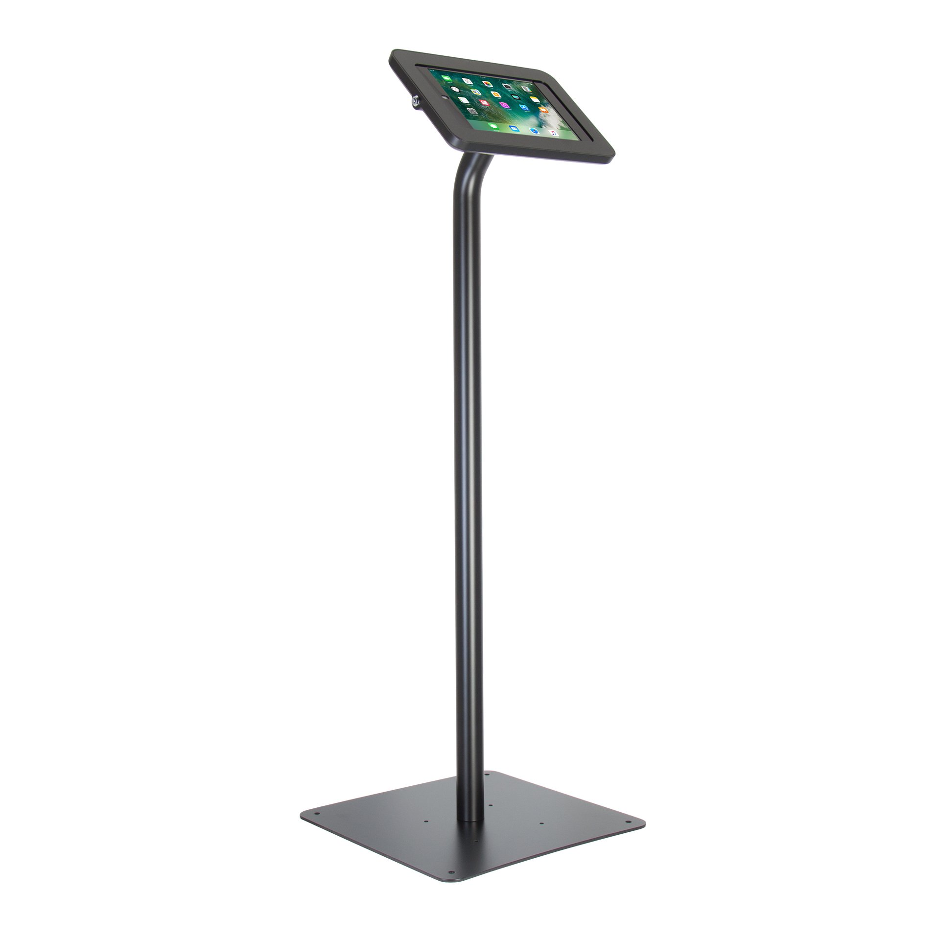 The Joy Factory Elevate II Floor Stand Retail Kiosk for iPad 9.7 5th/6th Gen and iPad Air (KAA101B)