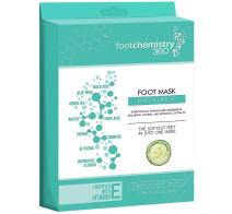 Foot Chemistry Foot Peel Mask | Soft Baby Feet in 1 Week | Natural & Moisturizing Dry Foot Peeling Exfoliant & Dead Skin Remover | Callous & Cracked Heel Treatment | Exfoliating Socks Booties | 1 Pair