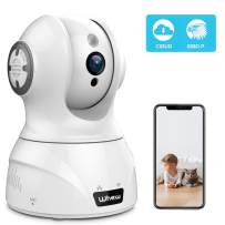 Wireless Home Security Camera, Whew 1080P WiFi Camera Indoor Compatible with Alexa, Night Vision Baby Monitor Nanny Camera Pet Camera with 2-Way Audio, Motion Detection, Cloud Storage