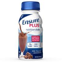 Ensure Plus Nutrition Shake with 13 Grams of high-Quality Protein, Meal Replacement Shakes, Milk Chocolate, 8 fl oz, 16 Count
