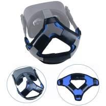 Esimen (Upgrade) Head Pad Cushion for Oculus Quest Virtual Reality VR Headset Cushion Headband Fixing Accessories, Comfortable PU Leather & Reduce Head Pressure (Blue)