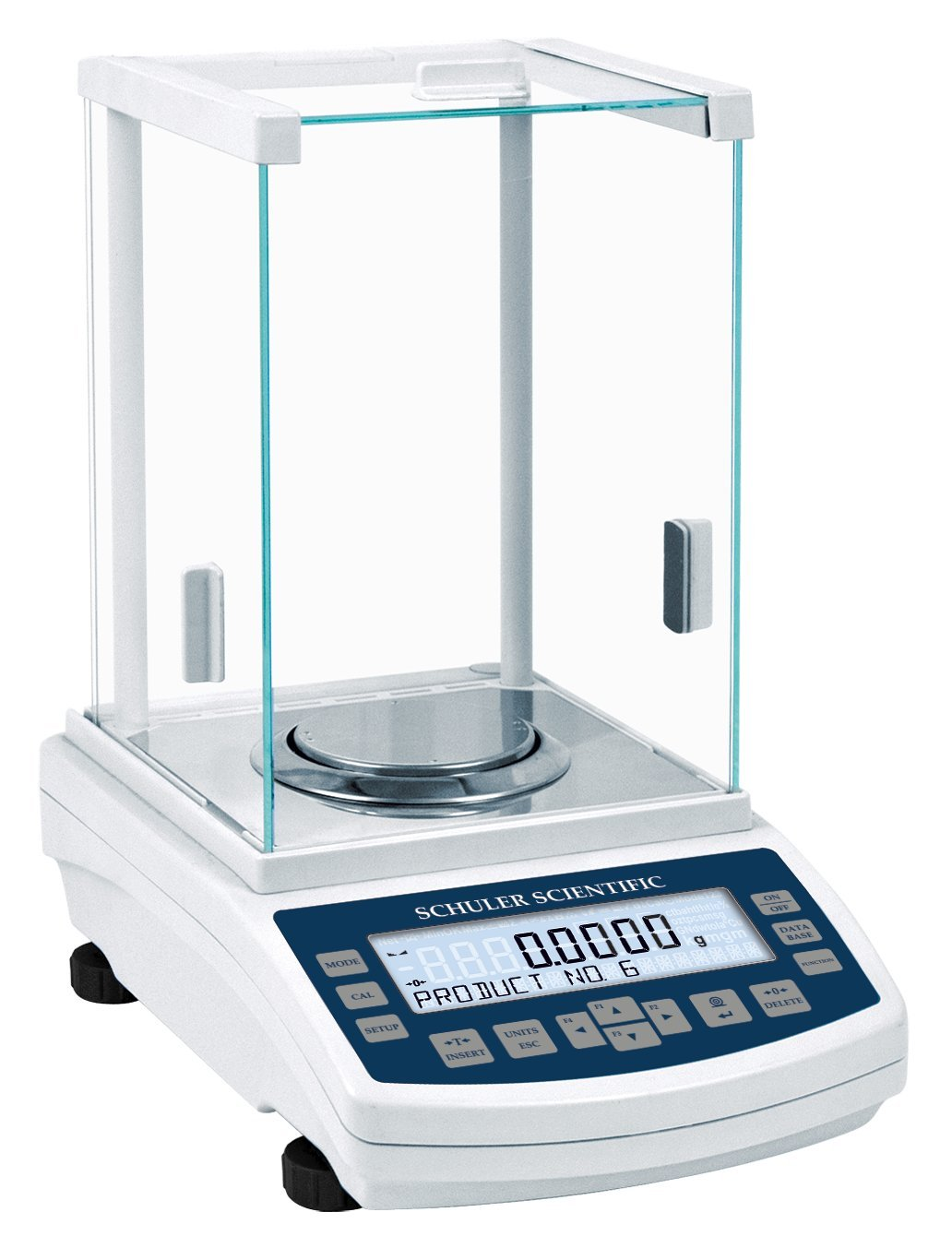 Schuler Scientific SAS-164 A Series Analytical Balance with 160g Capacity and 0.1mg Readability
