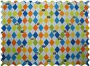 SheetWorld Argyle Blue Transport Fabric - By The Yard