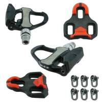 Venzo Road Bike Bicycle Look Keo Compatible Sealed Pedals