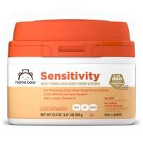 Amazon Brand - Mama Bear Sensitivity Milk-Based Powder Infant Formula with Iron, 22.5 Ounces