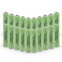 QBLPOWER 1.2v AAA NiCd 600mAh Triple A Rechargeable Battery Cell for Solar Lights Garden Lamp (20Pcs AAA NiCd 600mAh(Green))