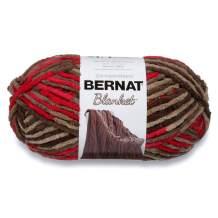 Bernat Rasberry Trifle Blanket Big Ball Yarn (10422)