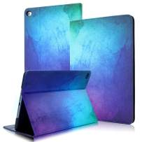 iPad 2 3 4 Case Cover, FANSONG iPad Flip Leather Cases 9.7-inch Painted Colorful Shockproof Smart Stand Covers for Apple iPad 2/3/4