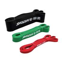 Shogun Sports Resistance Bands - Heavy Duty Resistance & Stretch Band. Ideal for Pull-up Assistance, Body Stretching, Power-Lifting, Resistance Training.