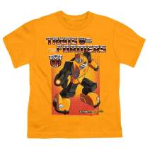 Transformers Bumblebee Youth T Shirt & Stickers