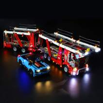 BRIKSMAX Led Lighting Kit for Technic Car Transporter - Compatible with Lego 42098 Building Blocks Model- Not Include The Lego Set