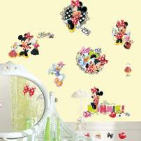 RoomMates RMK2121SCS Minnie Loves To Shop Peel and Stick Wall Decals