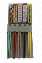 M.V. Trading 900285 Japanese Chopsticks Gift Set With Many Variety Designs, 5 pairs