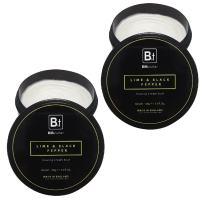 Bib & Tucker Shaving Cream Bowl - Lime & Black Pepper 5.3 fl. oz. - 2 Pack