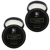 Bib & Tucker Shaving Cream Bowl - Lime & Black Pepper 5.3 fl. oz. - 2 Pack