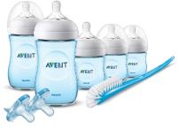 Philips Avent Natural Baby Bottle Blue Gift Set, SCD206/12