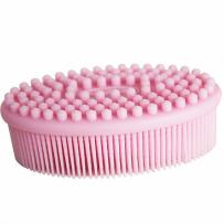 Fairy Baby Bath & Shower Silicone Loofah Brush for Face and Body Gentle Scrub-Massage Brush