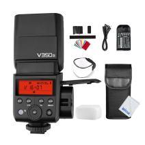 Godox V350S TTL 2.4G HSS 1/8000s Camera Flash Speedlite with Li-ion Battery for Sony A7RIII A6000 A7RII A7R A77II RX10 A9 A58 A99 ILCE6000L