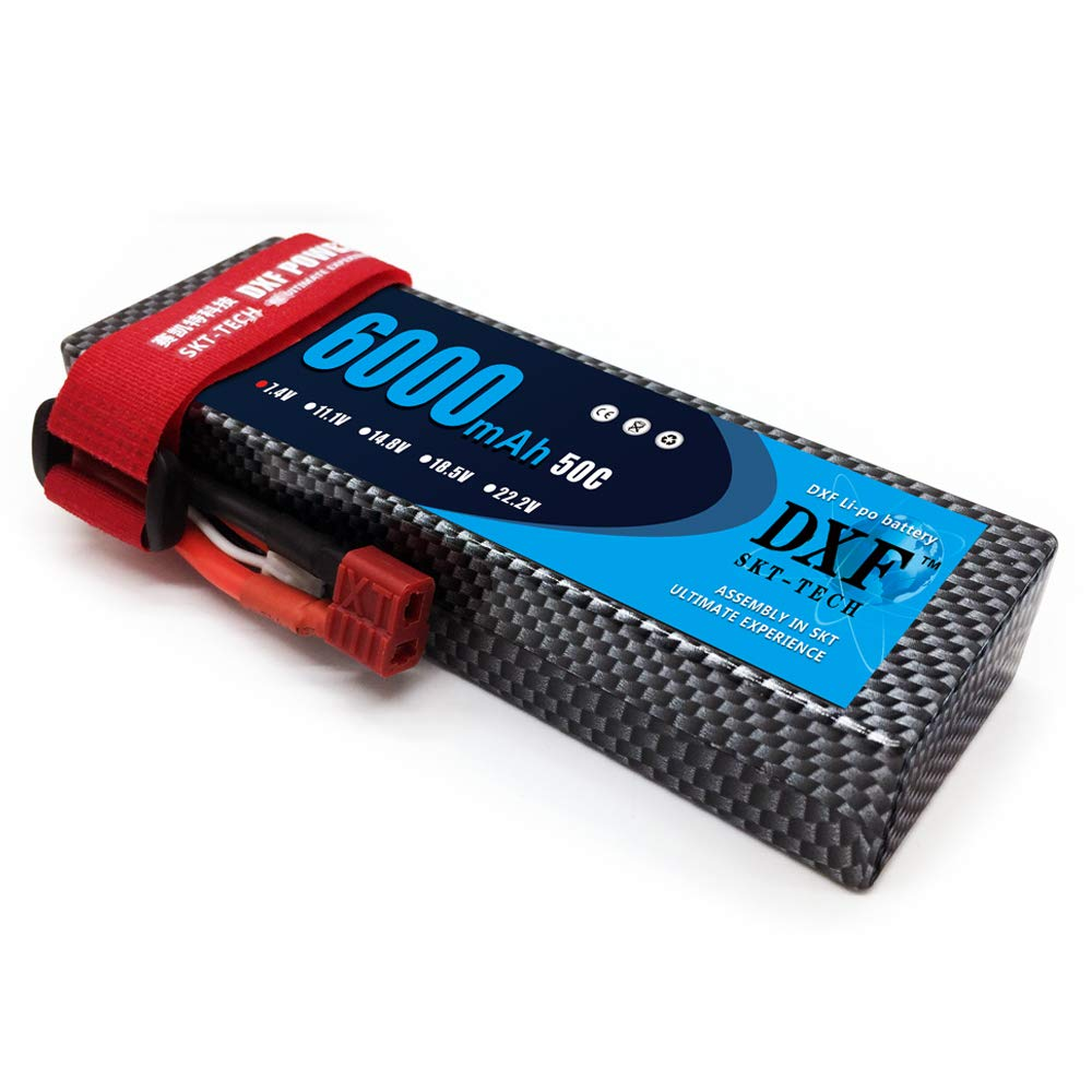 Gens ace 7.4V 1000mAh 2S 25C/50C LiPo Battery Pack with Deans Plug ...