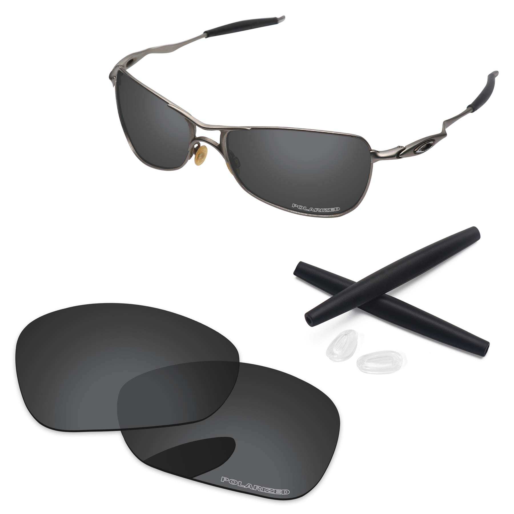 PapaViva Lenses Replacement & Rubber Kits for Oakley Crosshair 1.0