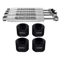 """Supreme Suspensions - Full Lift Kit for 1993-1998 Jeep Grand Cherokee ZJ 3"""" Front + 2"""" Rear Suspension Lift + Pro Performance Series Shocks 2WD 4WD"""